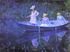 Claude Monet - Barca la Giverny