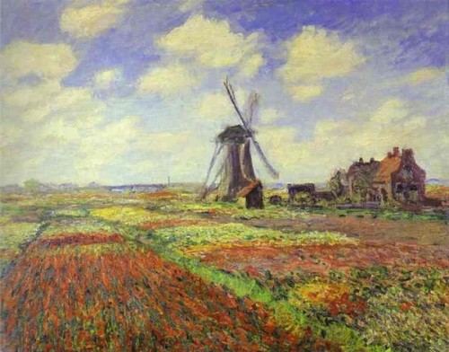Claude Monet - Lalele in Olanda