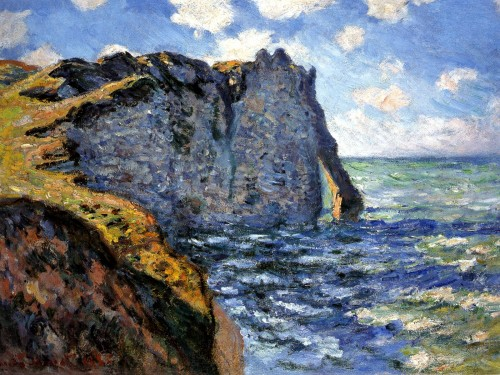 Claude Monet - Manneport