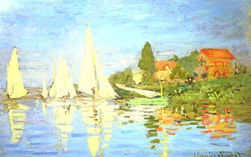 Claude Monet - Regata la Argenteuil